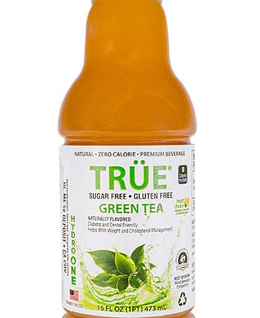 trÜe sugar free green tea hydro one beverages
